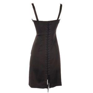 BCBG MaxAzria ❤︎ Corset Back Mini Dress ❤︎ Black
